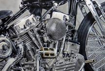 Harleys and Bikes