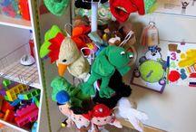 Puppet Rack