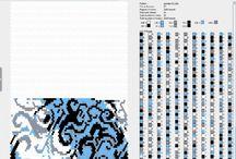 Virkade pärlor - Croched ropes