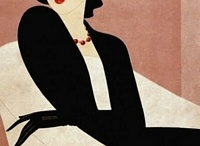 ~Art Deco~ / A style which first appeared in France in 1920 and flourished internationally during the 1930's and early 1940's, then waned in the post World War II era. / by Sharon Phillips