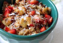 Breakfast ideas / Nutrition packed! unprocessed breakfast ideas!