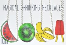Jewellery - ShrinkyDinks
