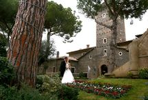 Castle weddings in Italy / Beautiful medieval castles in Italy for an unforgettable and unique wedding day!
