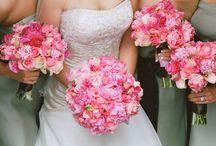 Pretty pink wedding ideas / Pretty pink wedding ideas and inspiration. www.confetti-cones.co.uk