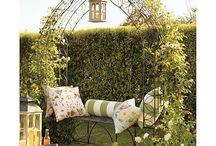 Garden Trellises, archways, canopies