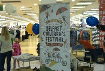 Belfast Childrens Festival and Young At Art / Belfast Childrens Festival  History of the years balloon printing
