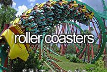 Roller Coasters / by Tonya Daisy