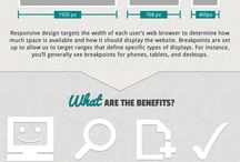 Web Design Info Graphics