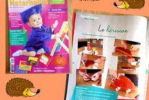Magazine assistantes maternelles mes activités / Je réalise des activités manuelles qui sont publiés dans le magazine assistantes maternelles