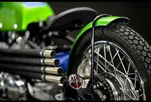 Motorcycle parts & details / Parts or details
