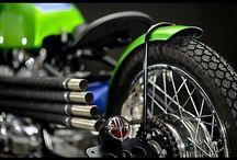Motorcycle parts & details / Parts or details