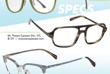 An Eyewear-Clad Father's Day / Calling all spouses, sons and daughters! With Father's Day right around the corner, you're probably on the prowl for the perfect present for your main man. The ultimate gift that keeps on giving, eyewear will have your daddios seeing clearly and looking sharp come Sunday. From dapper specs, to no-more-squint reading glasses, to sleek shades, there are lots of styles to choose from. / by Eyecessorize