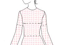 T-paidan peruskaava - knit sloper