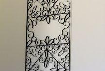 arte com rolo de papel toalha