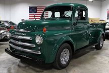 1948-55 DODGE PILOT PICK UP TRUCKS , UP TO 990 series