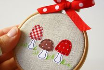 Toadstools / Sorry, probably not fabric related but a small obsession of mine :)