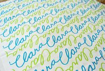 for future use / personalized fabric