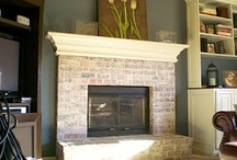 Fireplaces / by Dawn Edington