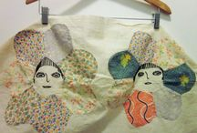 Old Quilt Pieces