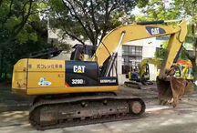 20 ton excavator CAT 320C, 320B and 320D for sale