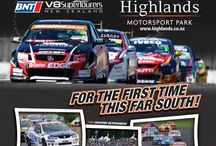 HIGHLAND PARK MOTORSPORT / Holden versus ford saloon cars