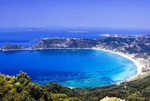 Best Beaches in Corfu / Crystal-clear waters, surrounded by lush greenery, beaches in Corfu are a must for a every visitor and ideal for the summer.  http://bit.ly/1pGFmhs