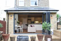 Simply Extend / Pictures of our gorgeous London home, kitchen and side return extensions.