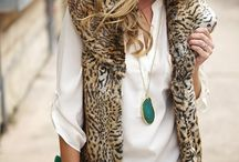 In the Closet: Faux Fur / Faux fur coats, collars, and vests / by {Living Outside the Stacks}