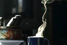smoke coffee