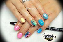 Summer nails - nyári szalonkörmök