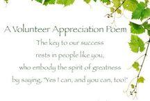 April is Volunteer Appreciation Month