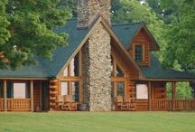 Ranch/Farm Home / Cabins, Log Homes etc...... / by Sandra Gregory
