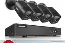 720P Security Camera System / It's a product collection of 720P solution security camera system, easy for diy installation.With them,you'll have no trouble recognizing faces and license plate numbers.