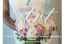 """Beautiful Works of Art: The Bouquets {Ambience Floral Design} / From the """"Beautiful Works of Art"""" Cover Model Contest feature in the Winter/Spring 2014 issue of Real Weddings Magazine, Photography by www.SharpePhotographers.com © Real Weddings Magazine, www.realweddingsmag.com. Bouquets by www.ambiencefloral.com. To see more, including a full list of all of the professionals on this shoot, visit: www.realweddingsmag.com/beautiful-works-of-art-the-bouquets-ambience-floral-design/"""