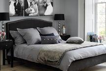Sypialnia szara