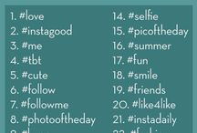ideas for hashtags