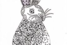 Crafts - Paper Craft - Zentangle / by Debbi Logan