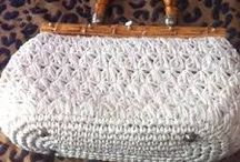 bolso tejido a crochet