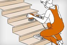 Treppenstufen: Stufe für Stufe abstufen!