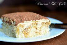 Tiramisu cake poke