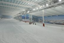 Indoor Skiing & Snowboarding