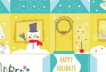 Printable Holiday Houses / Holidays project for Printable Houses