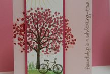 "Sheltering Tree / Cards & projects featuring Stampin' Up! Stamp ""Sheltering Tree"""