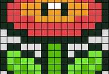 Hama beads patterns / by Lucile Nienna