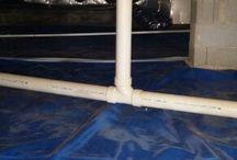 CrawlSpace Vapor Barrier install