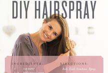 Natural Hairspray