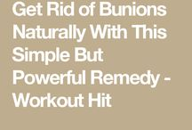 Bunion and other treatments