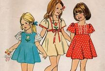 Fashion 70s children
