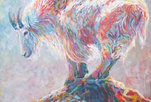 Shannon Ford Wildlife Paintings / Additional paintings, animals that live around our ranch