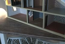 The Dallas house / Found an old Dallas Lundy dollhouse that I renovated for My daughters 7:th Birthday